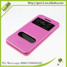 PU leather PC prestigio mobile phone case for Wiko Rainbow