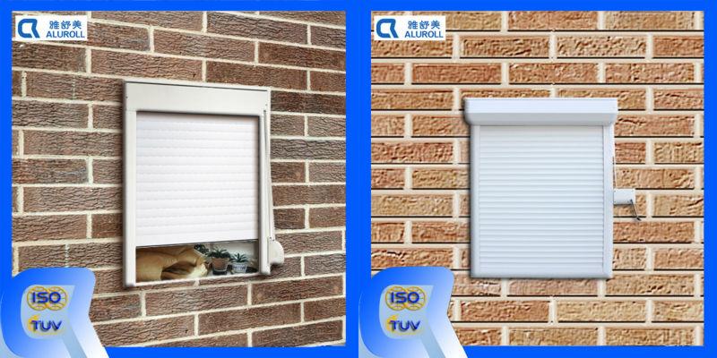 Manual Crank Outside Mounting Window Shutter Garage Door Roller Shutter Rolling Shutter Buy