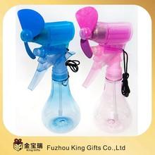 outdoor mini handheld water spray fan portable mini handheld fan