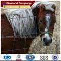 Hierro galvanizado granja / campo / tierra valla utilizado para caballos con madera poste