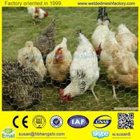 low price anping galvanized chicken hexagonal wire mesh (factory)