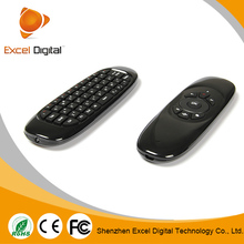 Mini wireless keyboard&fly air mouse 10m ( mele f10 pro )black Remote Controller 2.4g wireless fly mouse keyboard for smart tv