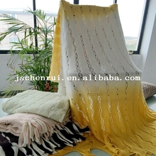 throw knitted blanket