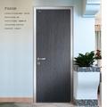 Porta da frente projetos, folheado laminado de madeira da porta, quarto simples design da porta