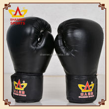 Wholesale Made in China PU custom logo leather boxing gloves