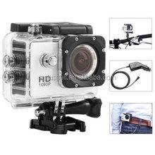 SJ4000 IP68 Waterproof 1080P FHD 1.5 Inch LCD Car DVR Dash Cam Action Camera Sport DV Novatek Chipset with Car Charger