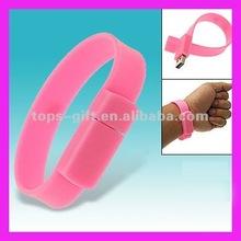 silicone bracelet usb drives