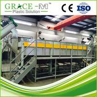 Plastic recycling PP washing Line PP recycling machine