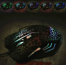 wired gaming mouse/optical usb arc mouse para notebook