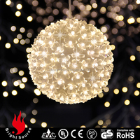 christmas decorations with low price color changing led globe light