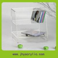Popular new style cd rack/plastic cd dvd holder