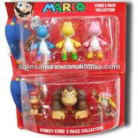 Wholesales Anime Figure Super Mario Bros Action Figure 6pcs PVC 2.5 inch