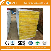 High quality insulation & heat insulation rockwool sandwich panel/board