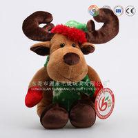 Lovely soft mini plush christmas toys