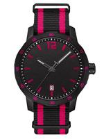 YB Customizable logo you brand nylon watch colorful Japan movement man quartz watch