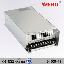 High efficiency 500W PSU 40A switching power module 12v led power supply