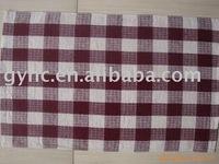check pattern 2 cotton printed kitchen towels