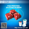 RTV silicone rubber for pad printing