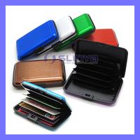 2cm Thick Ultrathin 60g Money Clip Shine Metal Credit Card Wallet