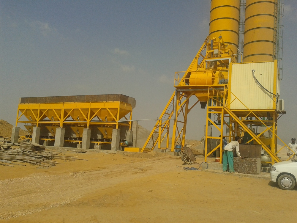 Batching Plant For Sale in Pakistan Lianchuang Hzs50 Concrete Batching Plant Pakistan Price