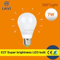 fashion design day light 6000K super bright led light bulb parts
