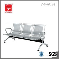 High quanlity 3-seater stainless steel waiting chairs airport chair JYW-0144