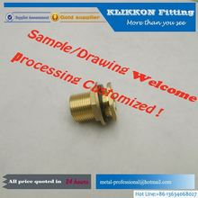 custom high precision cnc machining cooper/nickel plated parts used in truck
