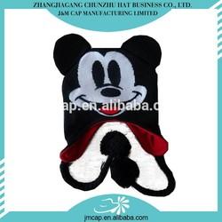 New design cheap winter ear warm crochet animal pattern hat