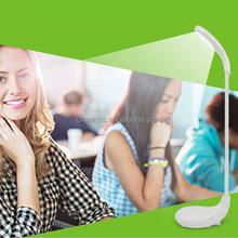 Eye Care Rechargable Folding LED Desk Lamp - White Natural Light Good for Reading and Study - Eye Protection