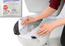 Anti-bacterial Sanitary tissue paper toilet seat protection cover for travelling