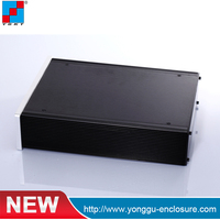 Aluminum Enclosure For Electrical Parts aluminum extrusion box for audio amplifier