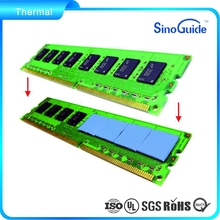 LCD TV Silicon Thermal Pad,Cooling Thermal Conductive Pad