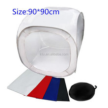 Good quality Collapsible Light Tent (Full Flocked Cloth) 80*80cm photography light box