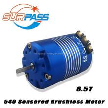 Blue color 5350 kv 540 sensored 6.5T rc car engine