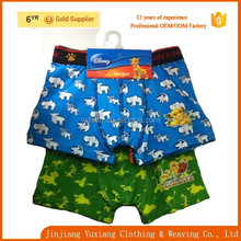 china manufacturer fashion full animal print underwear kids wholesales