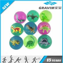 Animal toy high bouncing ball