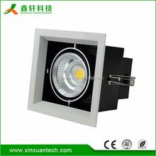 Most popular in Europe retrofit square COB recessed led adjustable downlights