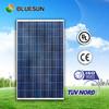 Bluesun factory avaiable stock supply A grade TUV/CE/ISO poly 250w panel solar roll