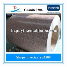 Grainte0206/Marble pattern painted steel with good quality low price made in China