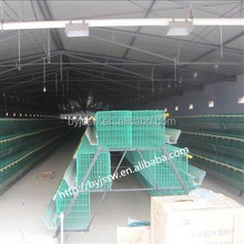 Plastic Coated Layer Chicken Cage For Poultry Farm