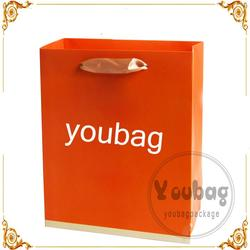 Cheap advertising tote recyclable cheap paper shopping bags for wholesales