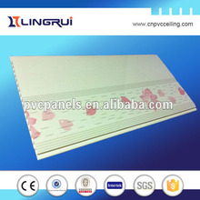 coloered plastic ceiling tiles marble grain wall board