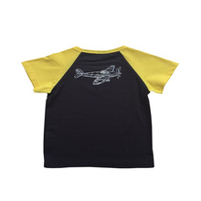 Breathable design children clothing boys short sleeve T-shirt