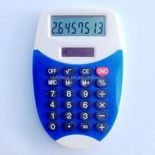 Dual power calculator, mini solar pocket calculator/ HLD800
