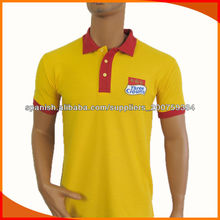 personalizados bordados insignia camisa polo