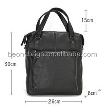 Alibaba Low Price Travel Leather Laptop Tote Bag Computer Case