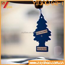 lastest Custom design various shape Car Paper air freshener/scent