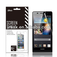 Wholesale screen protector for Huawei ascend p6 oem/odm (High Clear)