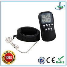 China Factory Wholesale Wireless Remote Control 433 mhz Meat Thermometer For Cooking, BBQ, Turkey,Pork, Beef, Grill