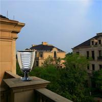 High Lumens Solar LED Garden Light Fixture Outdoor With Timer